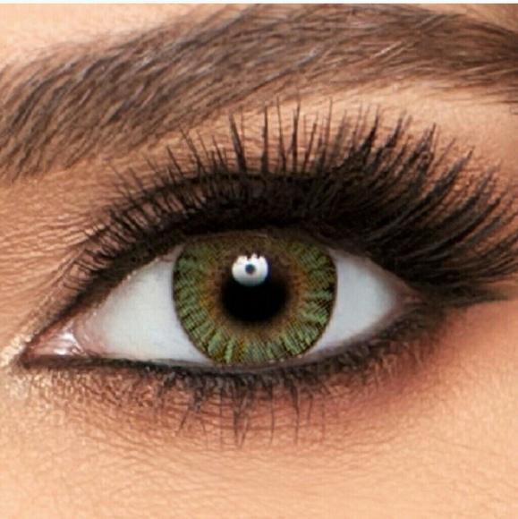 freshlook colorblends makeup green eye changing lens poshmark